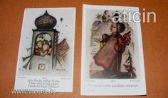 Berta Hummel szentképek a 30-s évekből! Original Rare Print! Fleißbildchen. Ars sacra Nr. 9808-9809