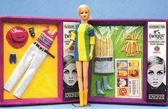Mattel's Twiggy — a friend of Barbie