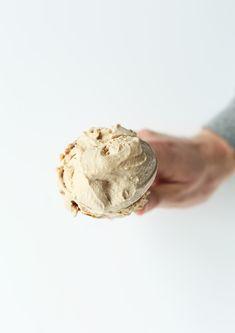 Simple CREAMY Vegan Chai Ice Cream!
