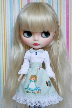 Blythe doll with Alice dress