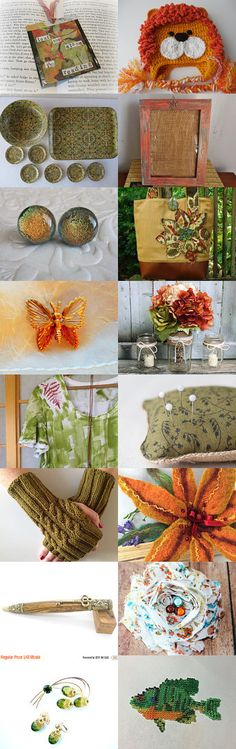 Colors of Autumn  by Sue on Etsy--Pinned+with+TreasuryPin.com