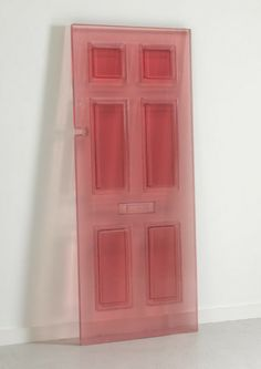DOORS 2015 / sculpture by Rachel Whiteread's // resin cast from antique doors dating back to the Decoration Inspiration, Design Inspiration, Interior Architecture, Interior And Exterior, Exterior Design, Rachel Whiteread, Bokashi, Antique Doors, Vintage Doors