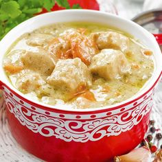 This hearty chicken stew makes a great weekend lunch.. Chicken Stew Recipe from Grandmothers Kitchen.