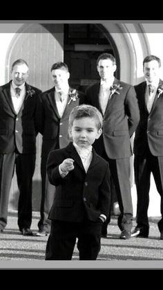 cutest wedding photo! <3