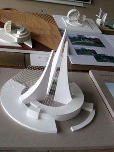 The best Luxury Arquitecture – Lo mejor de la Arquitectura The best Luxury Architecture – The best of Architecture Maquette Architecture, Concept Models Architecture, Architecture Model Making, Paper Architecture, Futuristic Architecture, Architecture Design, Triangular Architecture, Arch Model, Modelos 3d