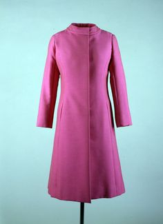 This Oleg Cassini coat was worn by Jacqueline Kennedy Onassis in March, 1962.  Here it is, 50+ years later, and I still think the coat is exquisite!  The style, tailoring, color, fabric ... perfection!
