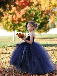 1be6aca09504 Exquisite Tulle One-shoulder Neckline Ball Gown Flower Girl Dresses FD071