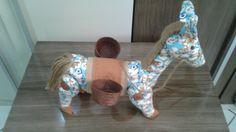 Cavalo feito de Tecido!
