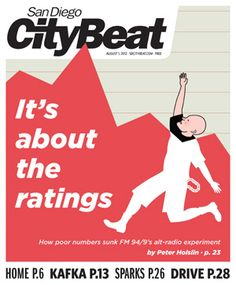 The Lovebirds in San Diego CityBeat demo review 2012 (they liked us...whew!)