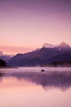 Maligne Lake, Alberta Canada