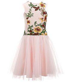 cc2c5623b01 Girls  Dresses · Dresses Kids GirlTulle DressCamillaKids GirlsDillardsTulle  GownTulle Bridesmaid Dress. Miss Behave Big Girls Camilla Floral-Embroidered  ...