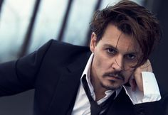 Johnny Depp- Dior photoshoot 2015