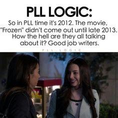 pretty little liars facts | Pretty little liars @pll.logic edit but that is so true. I didn t even ...
