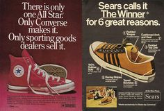 ad for converse 1 Vintage Shoes dd31fce6a