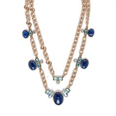 I love the Robert Rose Stone & Chain Necklace from LittleBlackBag robert rose, rose stone, chain necklac