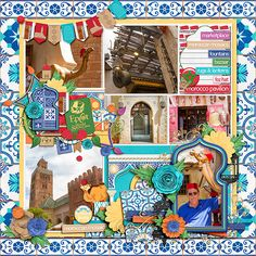 Passport To Morocco by Kellybell Designs