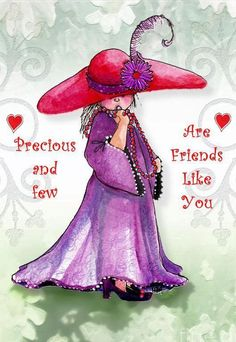 Precious and Few ~ From my dear friend Leigh. Thank you love for sending me this! Special Friend Quotes, Best Friend Quotes, My Best Friend, Friend Poems, Friend Friendship, Friendship Quotes, Happy Friendship, Friendship Cards, Red Hat Ladies