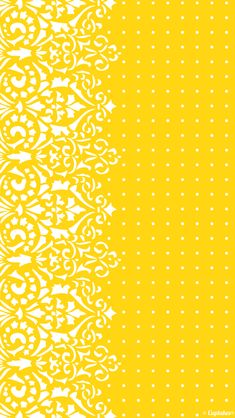 Yellow Pattern to polka dot iPhone Wallpaper Iphone 5 Wallpaper, Cellphone Wallpaper, White Wallpaper, Scrapbook Paper, Scrapbooking, Most Beautiful Wallpaper, Yellow Pattern, Scrapbook Designs, Mellow Yellow