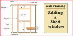 Free shed plans include gable, gambrel, lean to, small and big sheds. These sheds can be used for storage or in the garden. Free how to build a shed guide. Pallet Shed Plans, 10x10 Shed Plans, Lean To Shed Plans, Free Shed Plans, Shed Building Plans, Barn Plans, Wood Storage Sheds, Storage Shed Plans, Storage Ideas