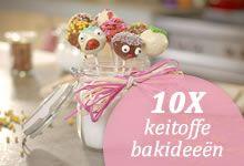 10 keitoffe bakideeën voor de paasvakantie