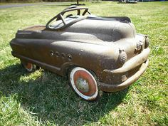 Vintage Murry Pedal Car Buick | eBay..I think this is similar to the color we had :)