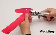 Как сделать гирлянду с датой вашей свадьбы