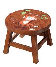 Monkey stool for my lil' monkeys!