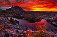 Good morning, sunrise...Magnificent mountain magic.