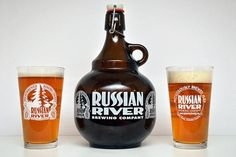 """Brewed by Russian River BrewingStyle: Imperial / Double IPAOrigin: Santa Rosa, California USARussian River named its double IPA """"Pliny the Elder"""" after the Roman scholar and naturalist who first named the hops plant and studied it. Pliny the Younger was his adopted son, so it seems fitting for this to be the name of Russian River's triple IPA. It is almost a true triple IPA, with triple the amount of hops as a regular IPA. This beer is full-bodied, with hop character in the nose and…"""