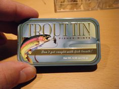 Troutrageous! Fly Fishing & Tenkara Blog: Make Your Own Magnetic Fly Box