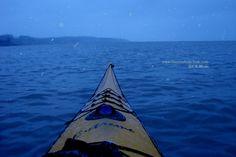 A December evening paddle in Lake Erie Ontario with artist & singer-songwriter Dennis Kalichuk...
