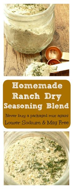 Dry Ranch Style Seasoning For Dip Or Dressing Recipe — Dishmaps