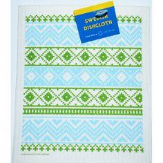 Swedish Dishcloth - Knit-Green (218.15G)