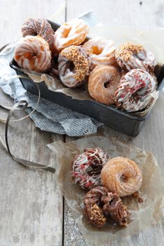 French cruller of Minis size