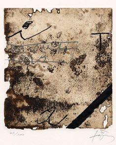Antoni Tapies, Eau-forte, 1985 - galerie bordas