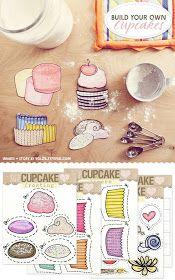 cupcakes zum Basteln