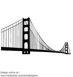 How to Draw the Golden Gate Bridge, Golden Gate Bridge