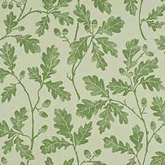 Oak leaf wallpaper