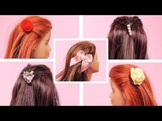 (179) Como Fazer Mini Presilha para Barbie, Monster High e Outras Bonecas - Tutorial Miniatura - YouTube