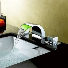 LightInTheBox Nickel Waterfall Faucets