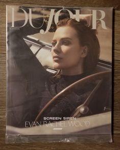 Dujour Evan Rachel Wood sealed magazine on Mercari Evan Rachel Wood, Seal, Magazine, Movie Posters, Film Poster, Magazines, Billboard, Film Posters, Warehouse