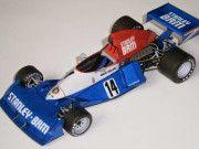 F1 Paper Model - 1975 GP Argentina BRM P201 Paper Car Free Template Download