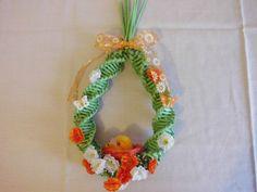 Easter Decoration Paper Basket, Plant Hanger, Macrame, Baskets, Easter, Decoration, Handmade, Home Decor, Decorating