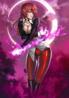 Iori Yagami from King of Fighters - Gender Swap in Album: Alternative Art