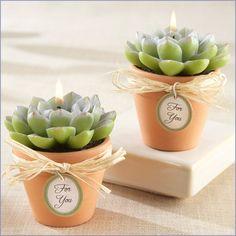 ABC das Suculentas: Velas so cool....candles!