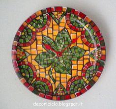 decoriciclo: Decorazione a finto mosaico VELOCE
