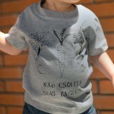 Disponível em outras cores - Para verificar outras opções entre em contato (11) 3333-6576 Camiseta, manga curta 100% Algodão Estampa frente Medidas: Baby l...