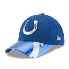 Indianapolis Colts New Era Women s 2017 NFL Draft On Stage 9FORTY  Adjustable Hat - Royal a8c1ff983