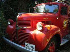 Vintage Dodge Firetruck by stu_macgoo, via Flickr