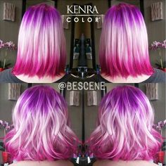 Trending now. Double dipped color! The creative team at Rock Your Locks can customize this for you! Www.hairsalonbrandonfl.com